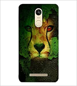 PrintDhaba Leopard D-4833 Back Case Cover for XIAOMI REDMI NOTE 3 MEDIATEK (Multi-Coloured)