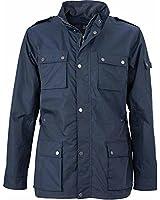James & Nicholson - Parka saharienne veste pilote - JN1056 - taille 3XL - bleu marine - homme