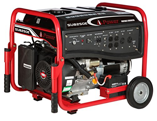 A-iPower A-iPower SU8250E-CARB Gasoline Portable Generator with Electric Start, CARB Approved