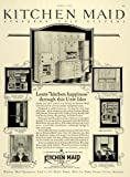 1927 Ad Kitchen Maid Standard Unit Home Appliances - Original Print Ad