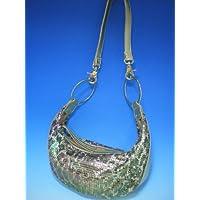 (ファルチ ニューヨーク)Falchi New York RE-0201 グリーン スパンコール ショルダーバッグ