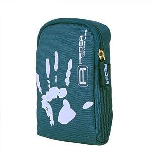Kameratasche (Softcase) für Samsung DV 150F / ES 70 / ES 75 / ES 90 / i8 / L 201 / L 310 W / NV 9 mit PEDEA Displayschutzfolie