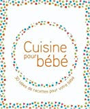 Cuisine pour bb, le kit : Un livre de 30 recettes et la vaiselle de bb qui va avec