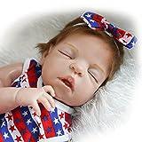 Fachel Mu�eca beb� reci�n nacido 55cm 22inch mu�eca realista beb� reci�n nacido de juguete regalo para ni�as princesa juguetes para ni�os regalo de cumplea�os regalo de navidad