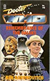 Doctor Who - Remembrance of the Daleks (Target Books)