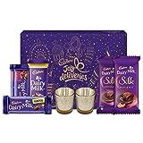 #3: Cadbury Assorted Chocolates Diwali Gift Pack, 275g - With Glass Diyas Inside