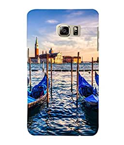 printtech Italy River Boats Gondola Back Case Cover for Samsung Galaxy S4::Samsung Galaxy S4 i9500