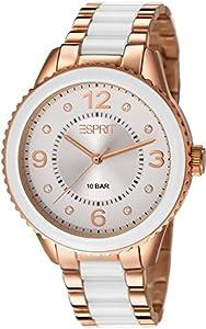 Esprit - ES106192009 - Montre Femme - Quartz Analogique - Bracelet Acier Inoxydable Rose Or