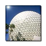 ct_89025_4 Danita Delimont - Florida - Florida, Orlando. Epcot Center at Walt Disney World - US10 BBA0073 - Bill Bachmann - Tiles - 12 Inch Ceramic Tile