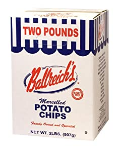 2 Pound Box Marcelled Potato Chips