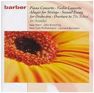 Barber: Piano Concerto, Violin Concerto, Adagio, Second Essay