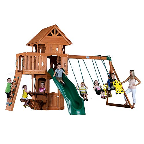 backyard discovery scenic all cedar wood playhouse