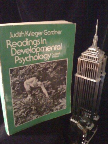 Readings in Developmental Psychology