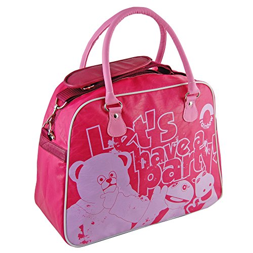 Rainbow Kids TV Show Bag - Zippy, George Bungle - large size with free keyring - reinforced straps