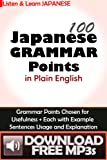 100 Japanese Grammar Points in Plain English Download