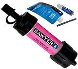 SAWYER ソーヤー ミニ ピンク 携帯用浄水器 災害時、緊急時に安全な水を確保できます[並行輸入品]