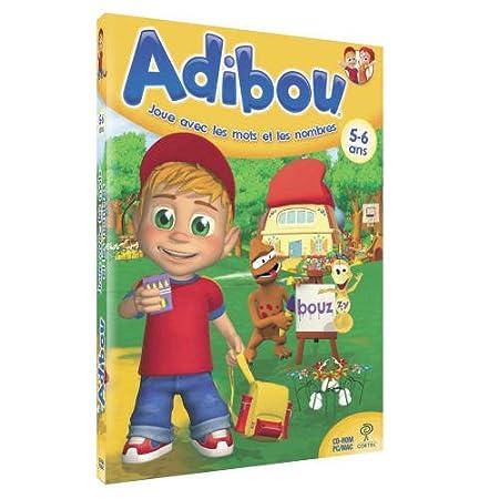 Adibou joue avec les mots et les nombres 5-6 ans 2009/2010