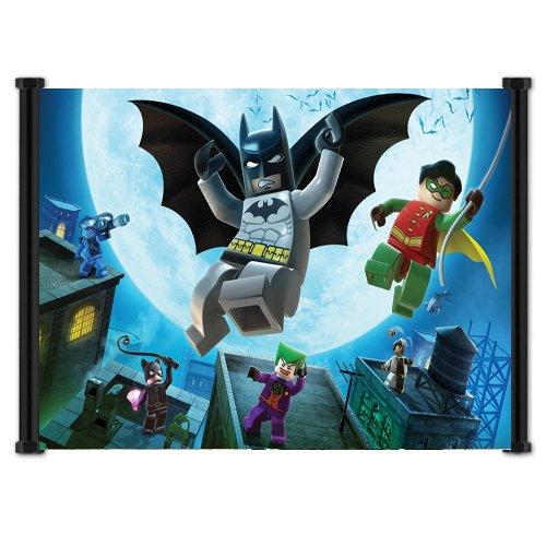 Lego Batman Game Fabric Wall Scroll Poster