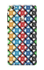 Letv Le 1s Cover KanvasCases Premium Designer 3D Printed Lightweight Hard Back Case