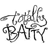 Gourmet Rubber Stamps Totally Batty Cling Stamps, 2.75 by 4.75