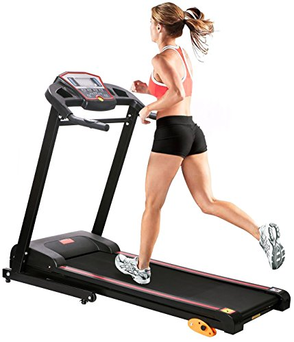 Merax® 1.5HP Folding Electric Treadmill Motorized Running Machine LCD Panel