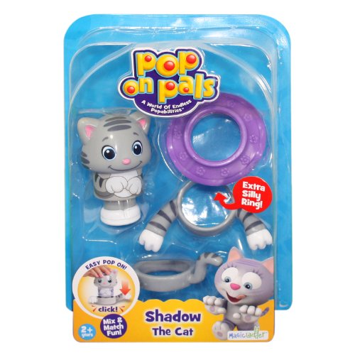 Pop On Pals Shadow The Cat - 1