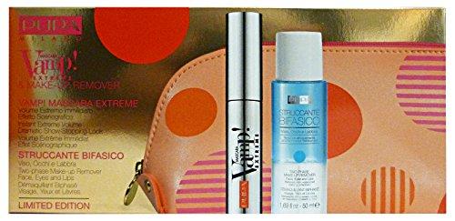PUPA DOT SHOCK Trousse Mascara VAMP EXREME+Mini Struccante Bifase+POCH Confezioni regalo