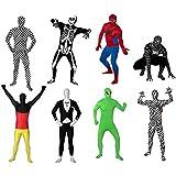 Original FUNSUIT Ganzkörperanzug Anzug Kostüm Gr. S / M / L / XL / XXL - versch. Muster