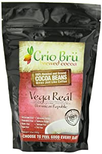 Crio Bru Ground Cocoa Beans, Vega Real, 12 Ounce