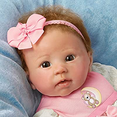Linda Murray Lifelike and Weighted 20 Inch Baby Girl Doll by The Ashton-Drake Galleries from The Ashton-Drake Galleries