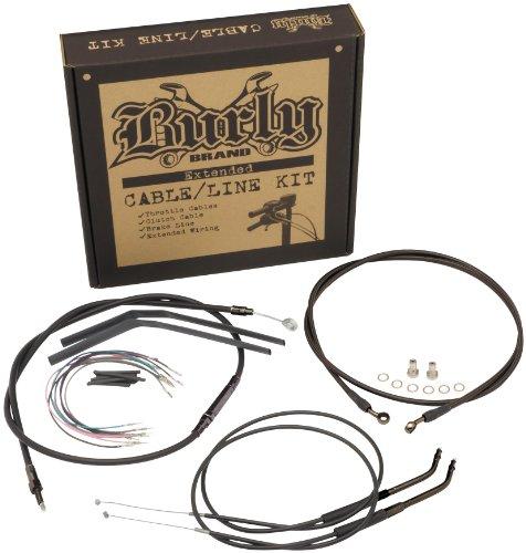 Progressive Suspension Cable and Brake Line Kit for 18in. Ape Hangers - Stainless Braid B30-1081 msr brake line kit fk003d648r