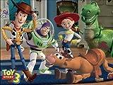 48 piece jigsaw puzzle lenticular 3D Magic Toy Story 3 DL-48-653 (japan import)