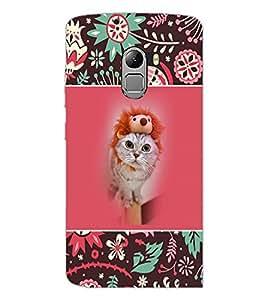 PrintDhaba Kittin D-5710 Back Case Cover for LENOVO K4 NOTE A7010a48 (Multi-Coloured)