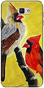 The Racoon Grip Cardinal Pair hard plastic printed back case/cover for Samsung Galaxy J7 Prime