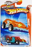 Hot Wheels FANGSTER 01/04 Race World UNDERGROUND 185/240 Metallic Red & Metallic Teal