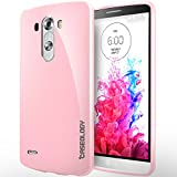 LG G3 Case, Caseology [Drop Protection] LG G3 Case [Pink] Slim Fit Skin Cover [Shock Absorbent] TPU Bumper LG G3 Case [Made in Korea] (for LG G3 Verizon, AT&T Sprint, T-mobile, Unlocked)