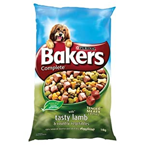 Bakers Complete with Tasty Lamb and Country Vegetables Dog Food 14 kg