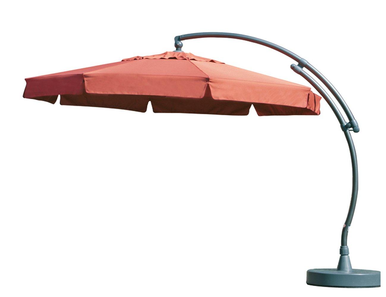 Sun Garden 10116068 Premium Easy-Sun 3.5 m inklusive Hülle und Lampe Gestell, anthrazit / terracotta jetzt kaufen
