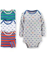 Carter's 4-Pack Baby Boys Bodysuits Set