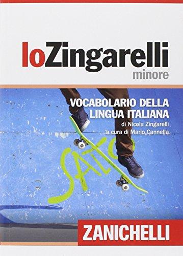 Lo Zingarelli minore Quindicesima edizione PDF