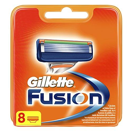Gillette Fusion Ricarica di Lame, 8 Testine