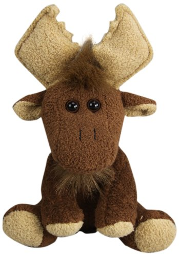 "Purr-Fection Morty Moose 7"" Plush"