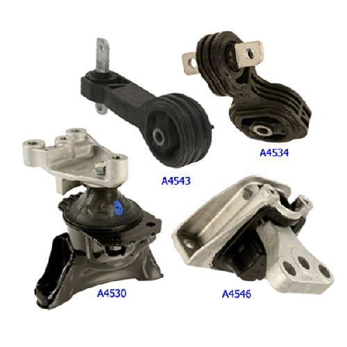 1990-1991 ACURA INTEGRA 1.8L MOTOR MOUNT KIT 3PCS.