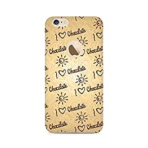 Mobicture I love Chocolate Printed Phone Case for Apple iPhone 6 With Hole/ 6s With Hole