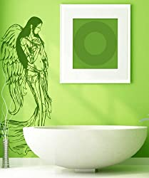 Vinyl Wall Decal Sticker Beautiful Angel Wings 774B