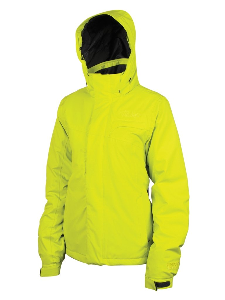 Protest Damen ski Jacke Royal XXL  – – Lime Juice günstig