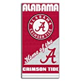 NCAA Alabama Crimson Tide Home Beach Towel, 28 x 58-Inch at Amazon.com