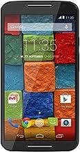 Motorola Moto X 2. Generation Smartphone (13,2 cm (5,2 Zoll) Full HD-Display, 13 Megapixel Kamera, Quad-Core Prozessor, 32GB interner Speicher, Android KitKat 4.4.4) schwarz