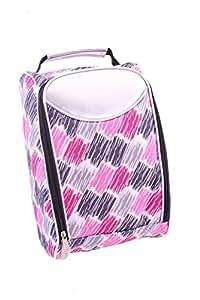 pink shower shoe bag sports outdoors