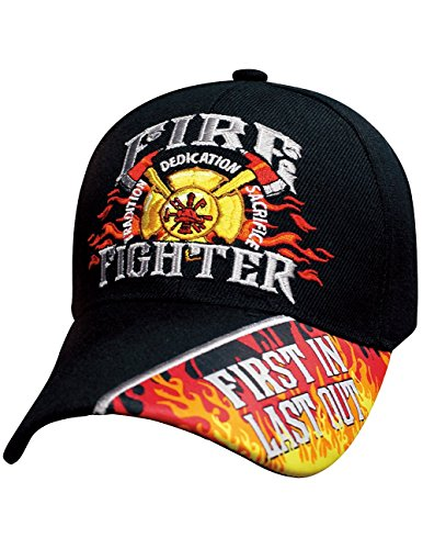 Fire Fighter Emblem First Responders Motto